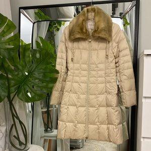 LAUNDRY by Shelli Segal Detachable Fur Collar S
